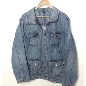 Vintage Lane Bryant jean jacket 26/28